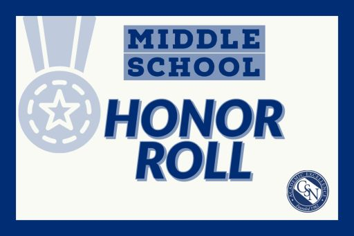 Middle School Honor Roll - Quarter 2