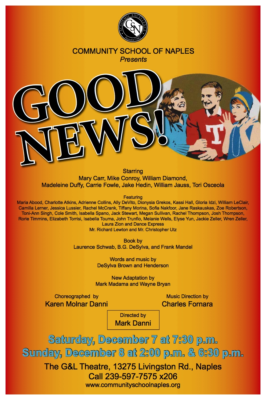 Tickets Available for Good News